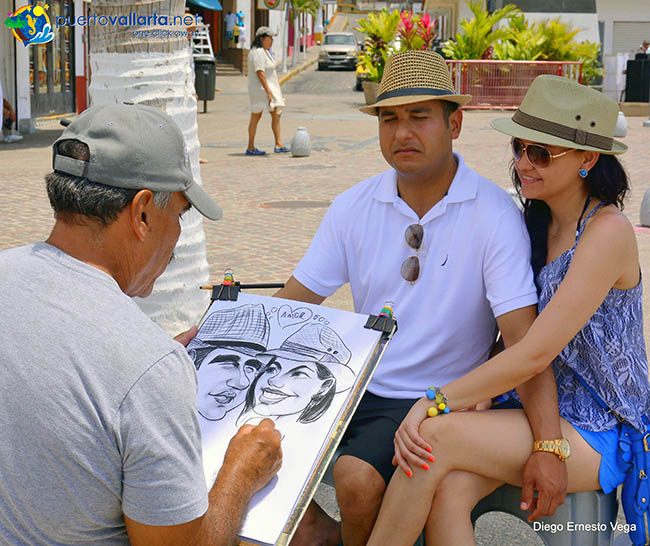 Portraits on the Malecon
