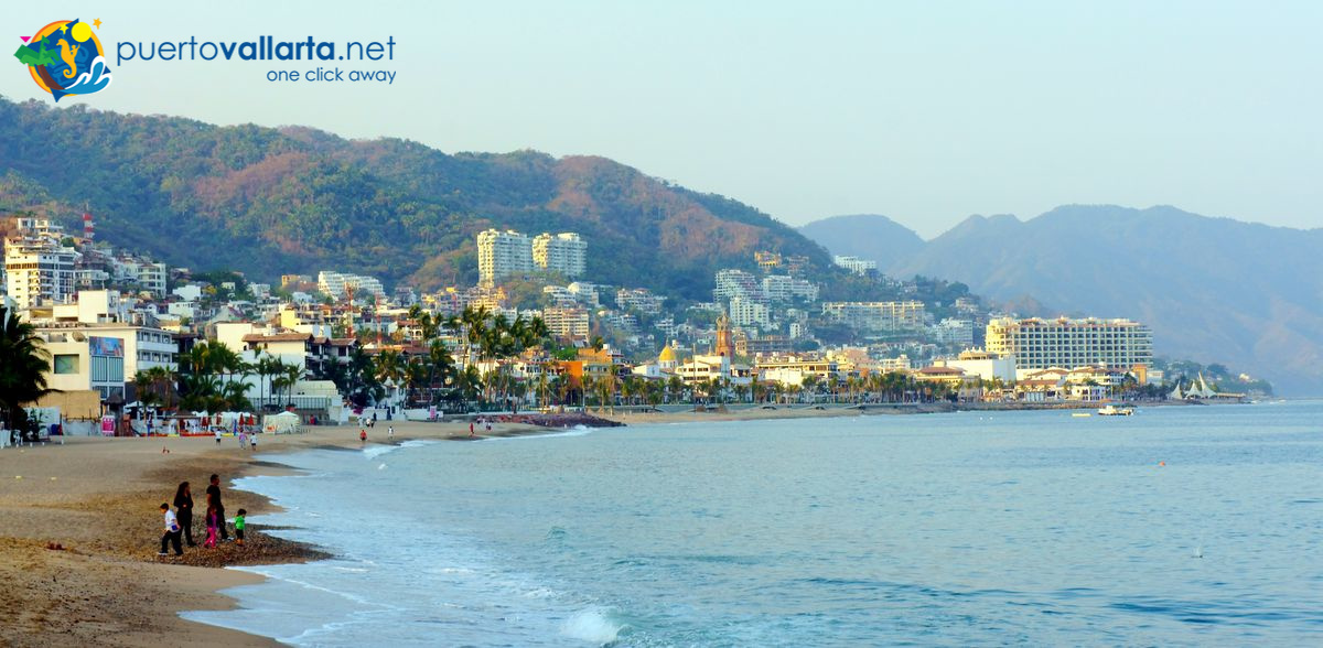 Playa Camarones downtown Puerto Vallarta