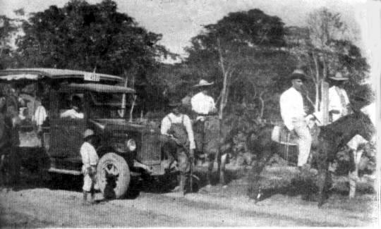 (1930) First transport to surrounding localities