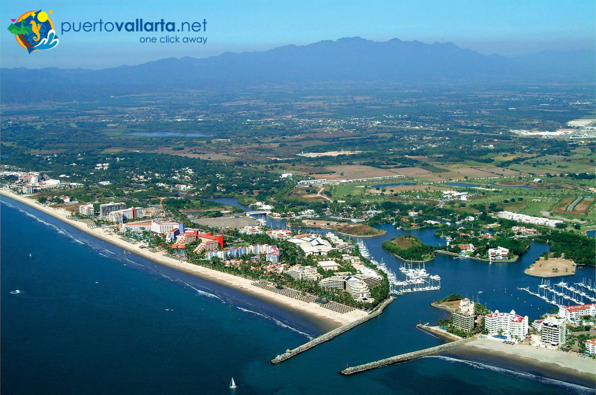 Air view Vallarta