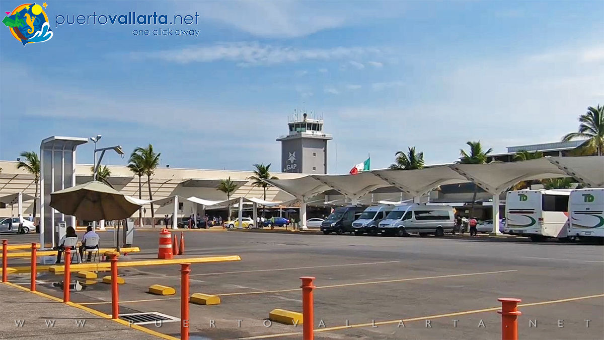Puerto Vallarta International Airport without Terminal 2