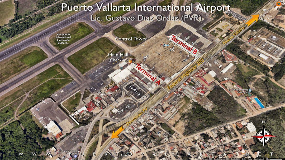 Puerto Vallarta Airport Diagram