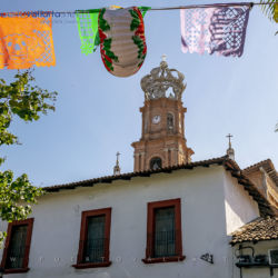 Our Lady of Guadalupe Parish, church in downtown Puerto Vallarta