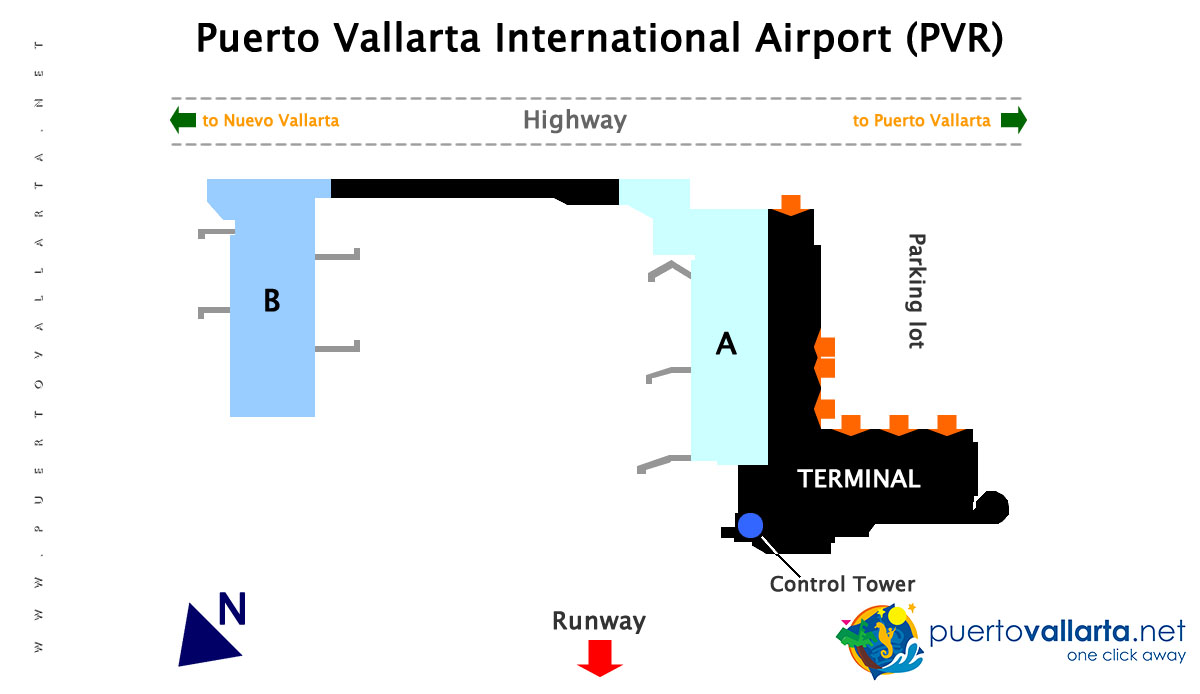 PVR Airport Diagram