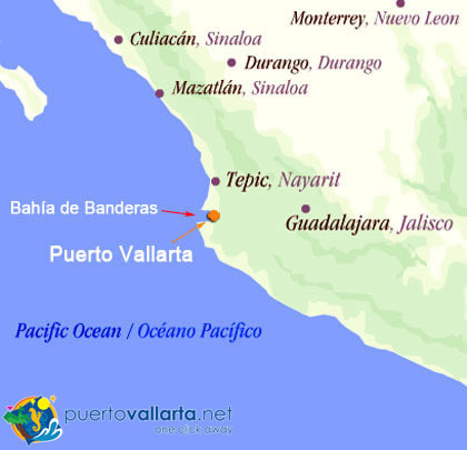 Puerto Vallarta World Map.About Puerto Vallarta