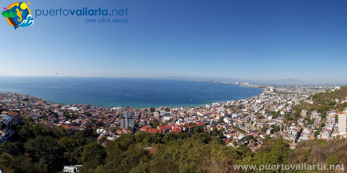 Panoramic View of Puerto Vallarta