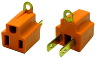3 to 2 prong adaptor