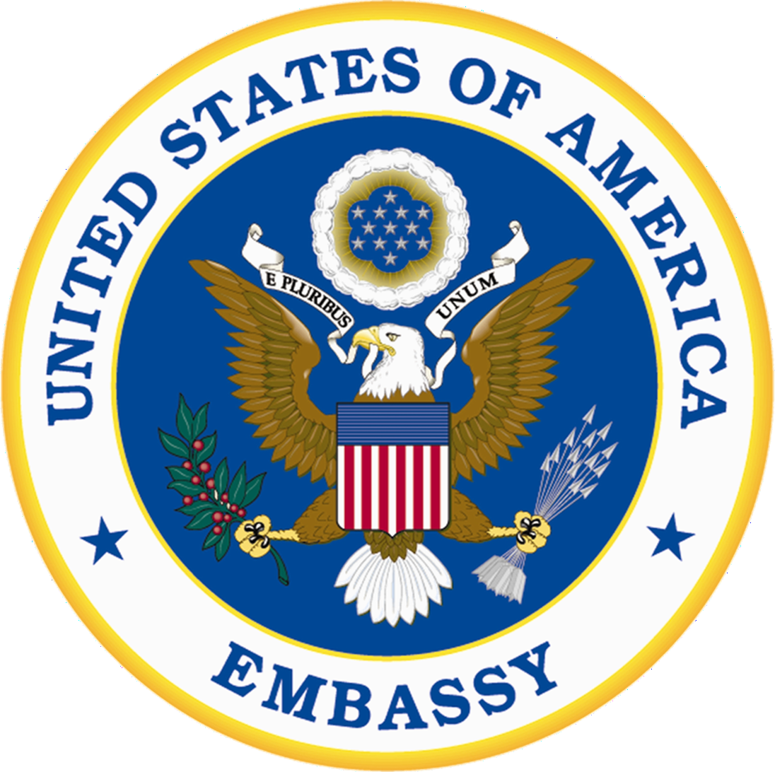 Seal Of An Embassy Of The United States Of America