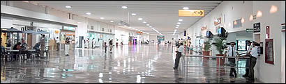 Airport hall A