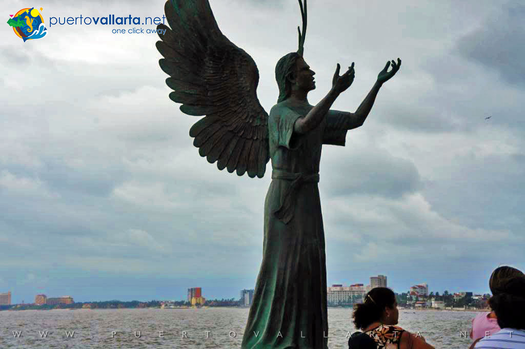 Angel of Hope and Messenger of Peace by Héctor Montes (2007)