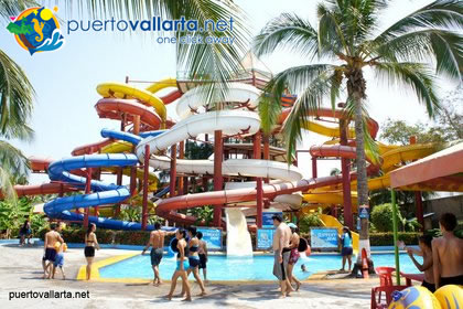Aquaventuras Waterpark in Nuevo Vallarta