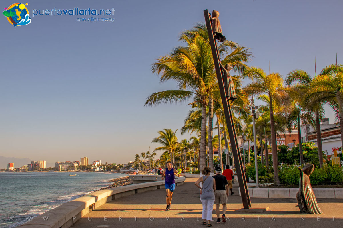 In Search of Reason - Sergio Bustamante, Puerto Vallarta Malecon