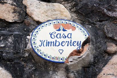 Casa Kimberley sign