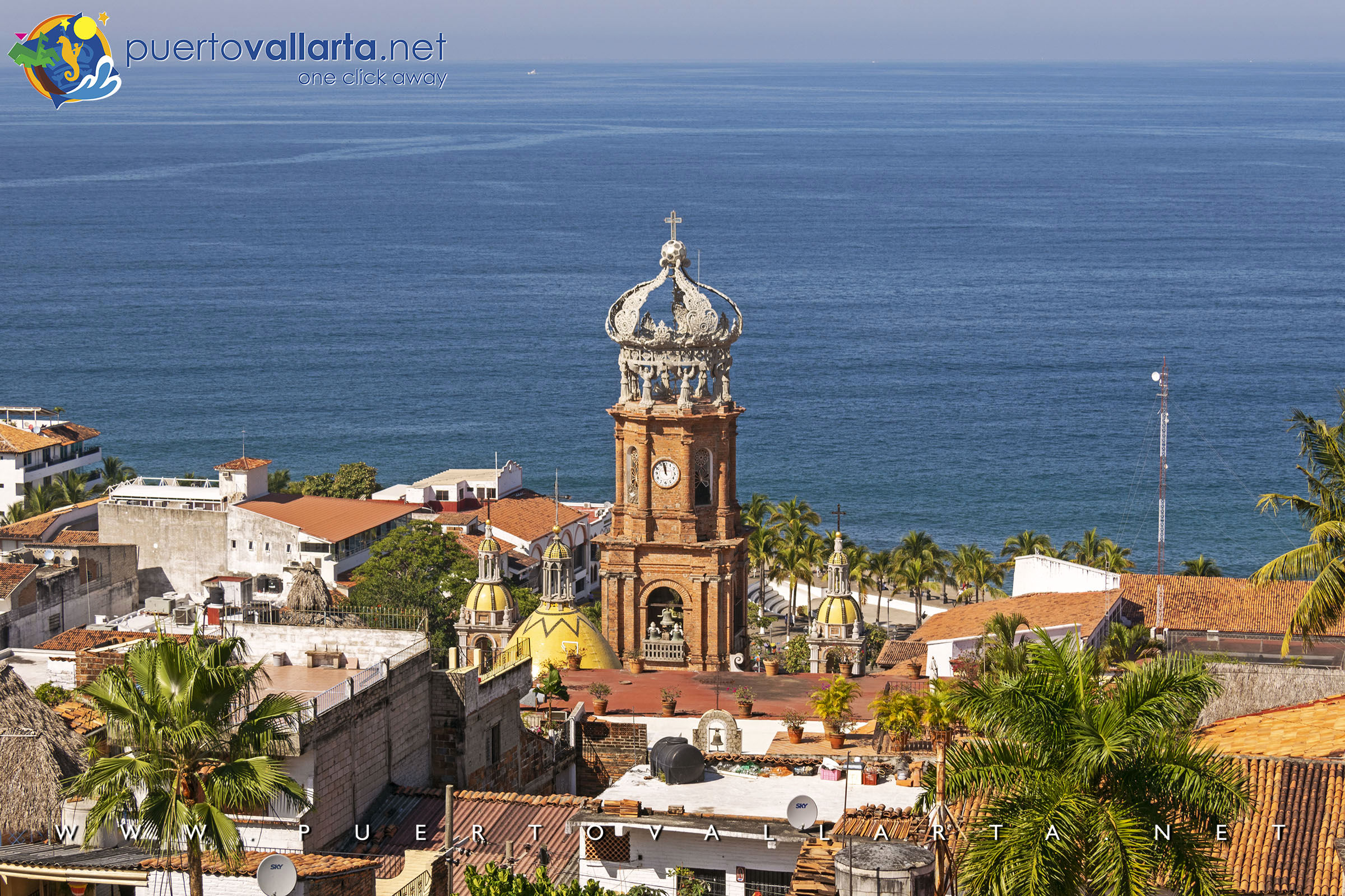 Parish of Our Lady of Guadalupe, church in Downtown Puerto Vallarta