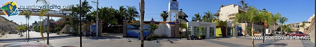 El Anclote Street side Panorama