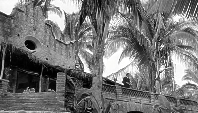 The Night of the Iguana set at Mismaloya