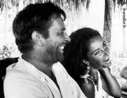 Elizabeth Taylor and Richard Burton in Puerto Vallarta