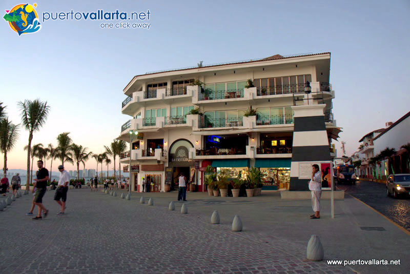 Lighthouse on the malecon in Puerto Vallarta
