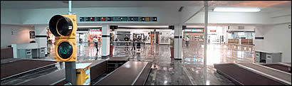 Image result for mexico immigration red light green light airport images