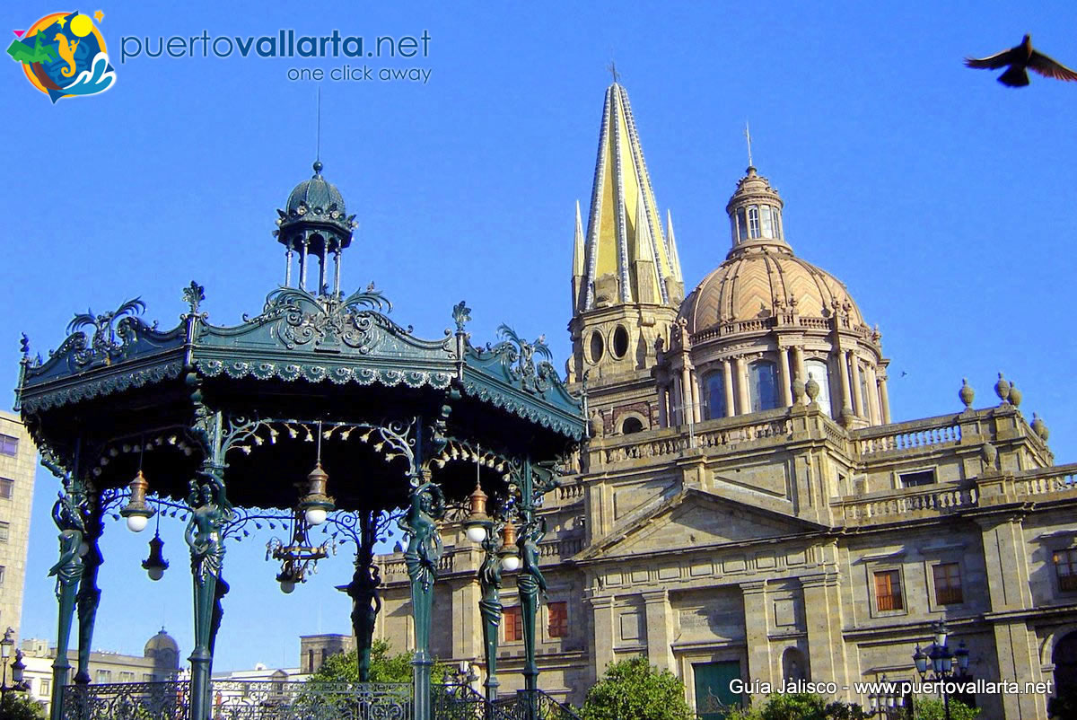 Cathedral and Kiosk of Guadalajara, Jalisco