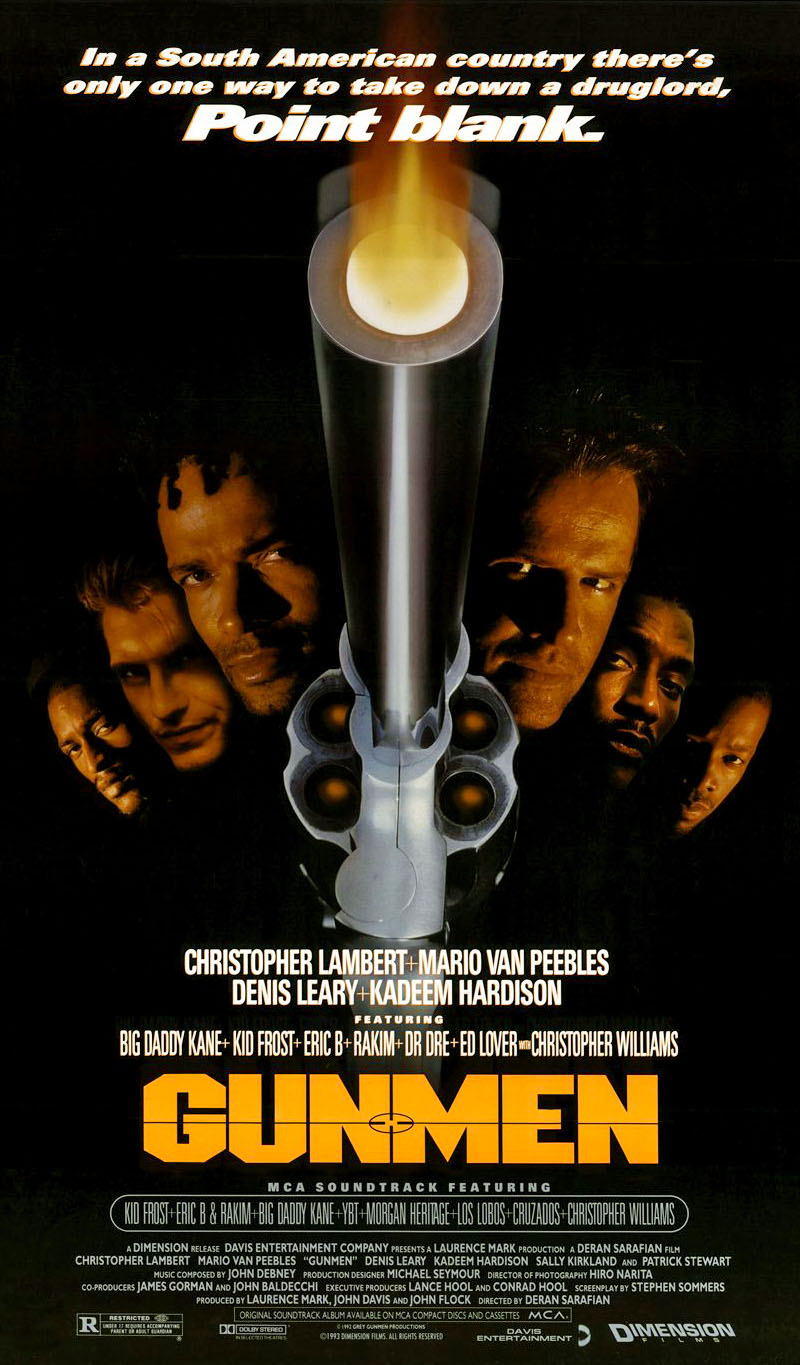 Gunmen (1993) movie poster