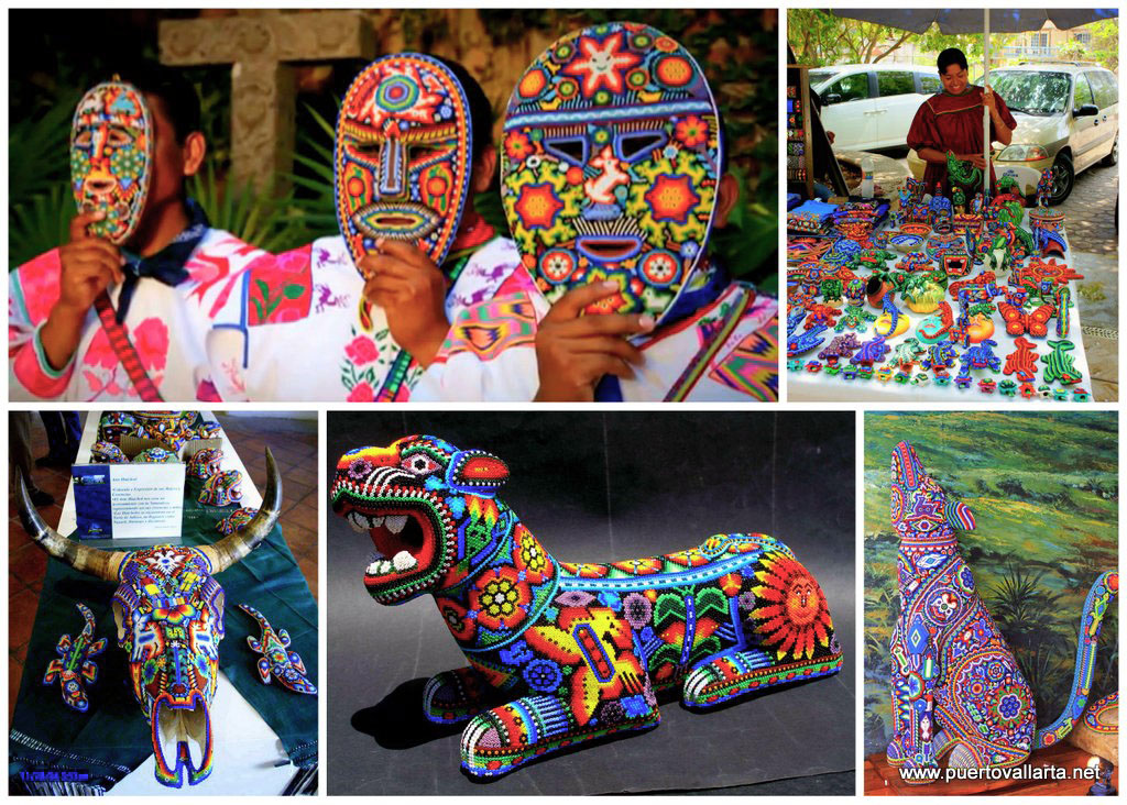 Huichol Collage