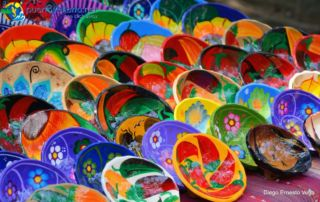 Ceramic souvenirs from Puerto Vallarta