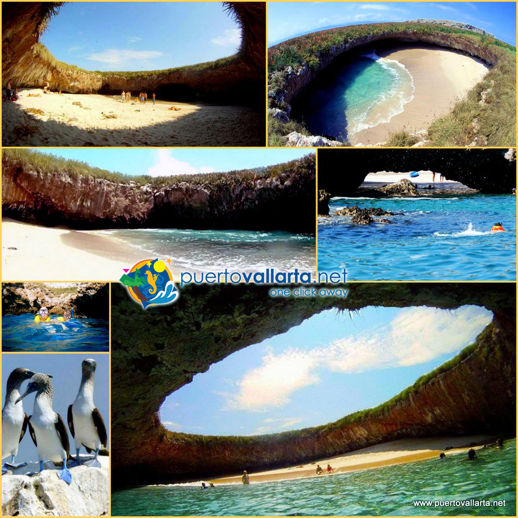 Marietas Islands close to Puerto Vallarta