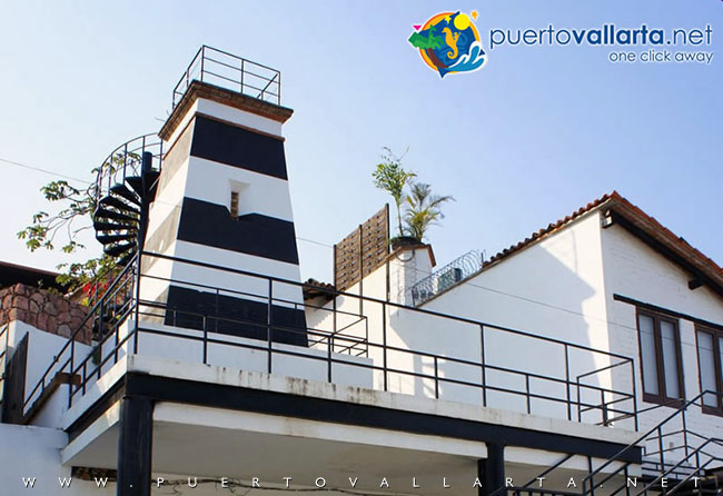 Lighthouse Lookout at Matamoros Street, downtown Puerto Vallarta