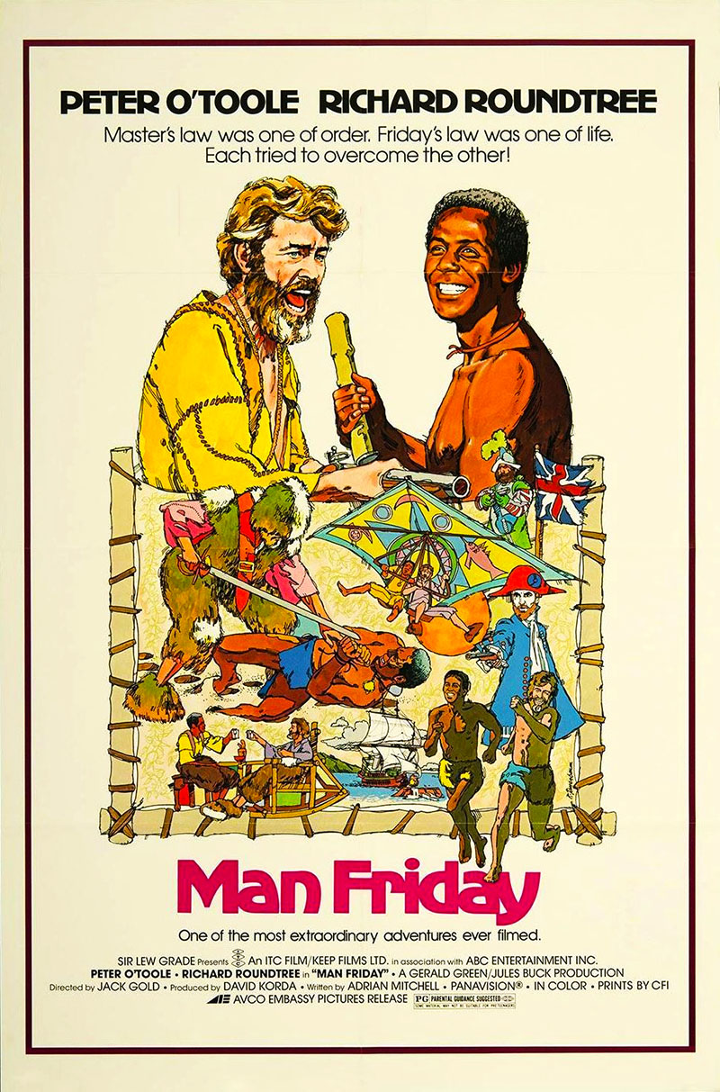 Man Friday (1975) Jack Gold