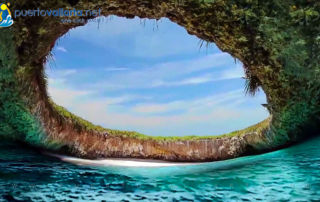 Marietas Islands Nayarit Mexico, hidden beach