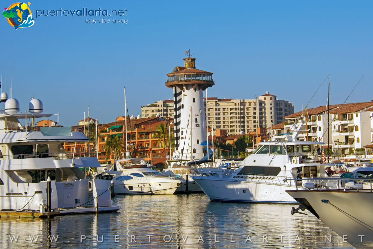 Marina Lighthouse, Puerto Vallarta