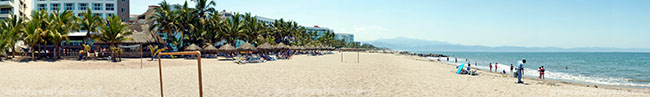 Nuevo Vallarta South Beach Panorama