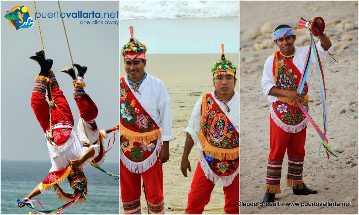 The Papantla Birdmen on the Malecon