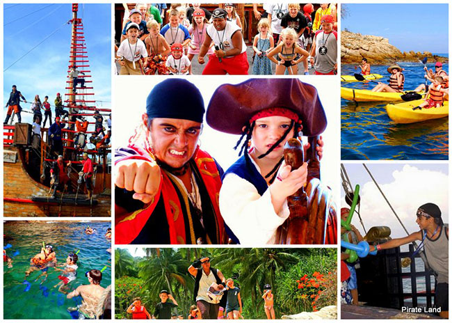 Pirate Land Day Tour