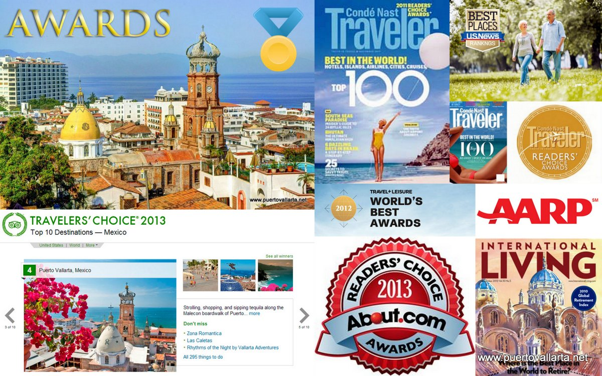 Awards Puerto Vallarta has received