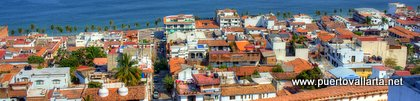 Panoramic view of Vallarta