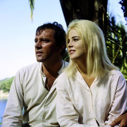Richard Burton and Sue Lyon
