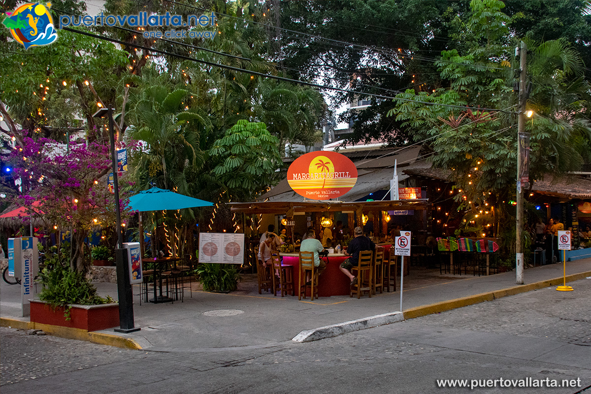 Margarita Grill, one of many Romantic Zone restaurants