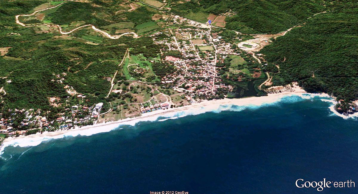 San Pancho Google Earth