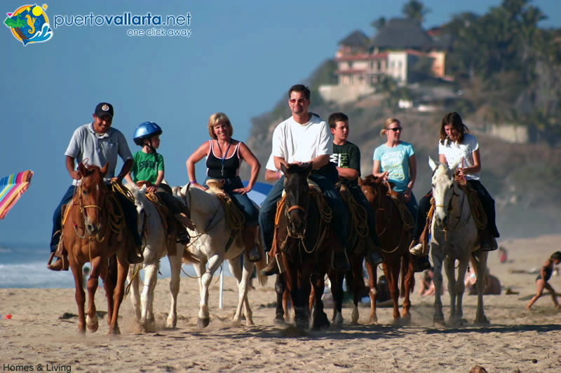 Horseback riding is a popular activity in Sayulita
