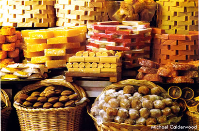 There are a wide variety of sweets made in Mexico