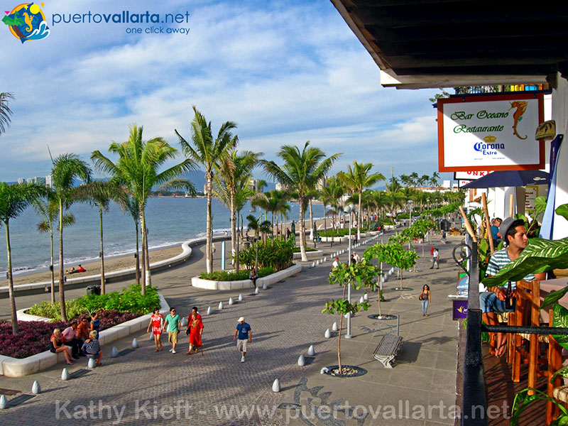 El Malecon, downtown Puerto Vallarta