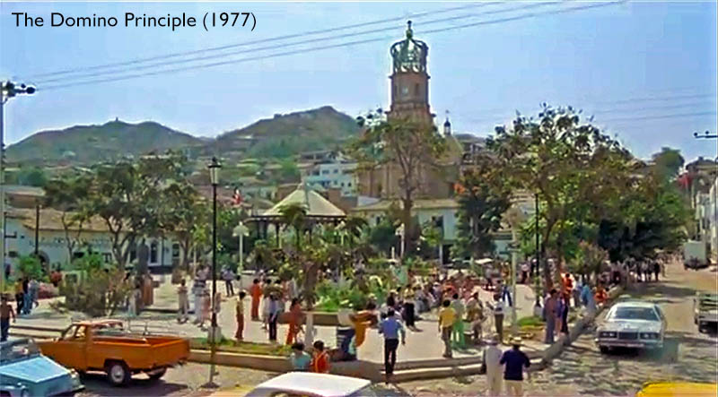 The Domino Principle (1977) Puerto Vallarta Plazaz de armas