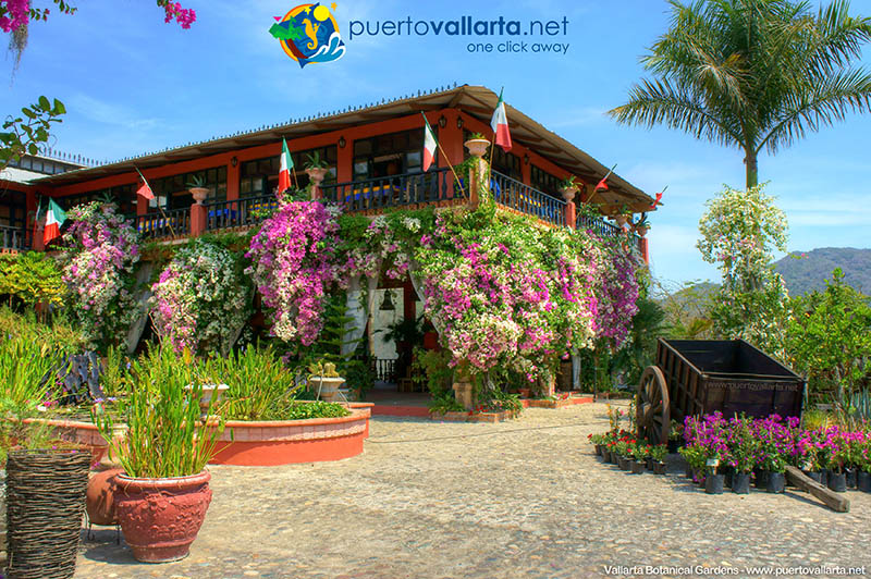 Vallarta Botanical Gardens, Hacienda de Oro Visitor Center