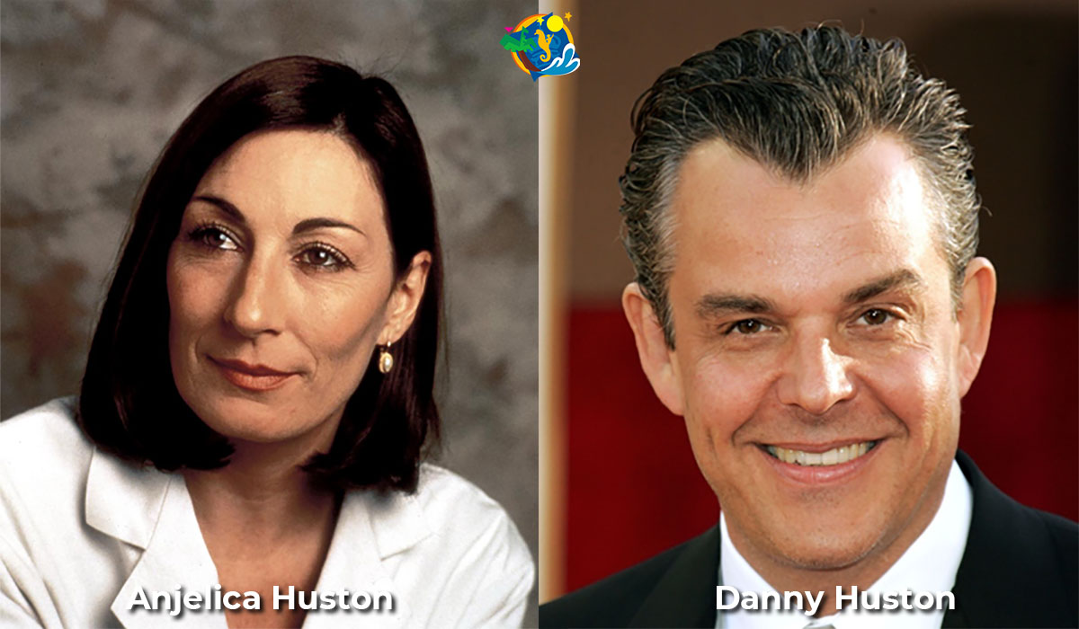 Anjelica Huston and Danny Huston