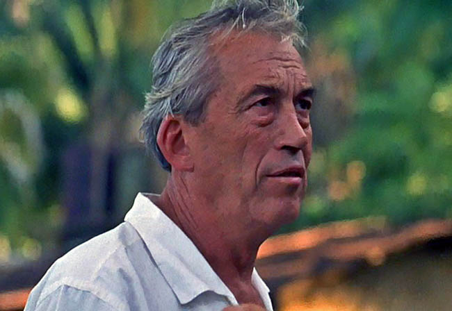 John Huston during the filming of The Night of the Iguana (1963)