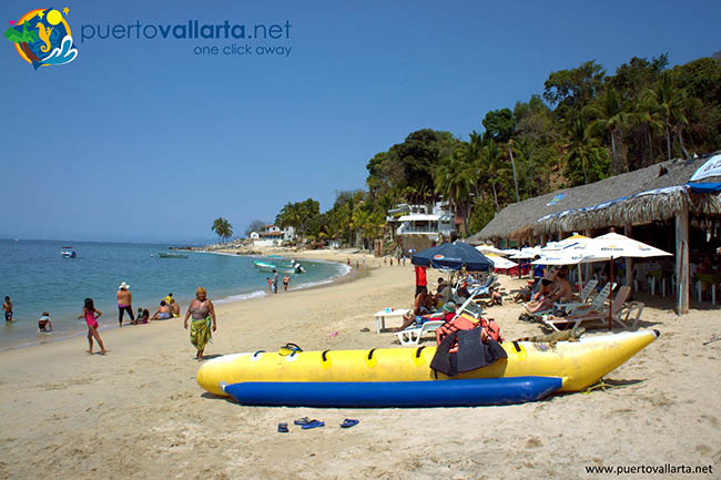 Banana boat at Las Animas
