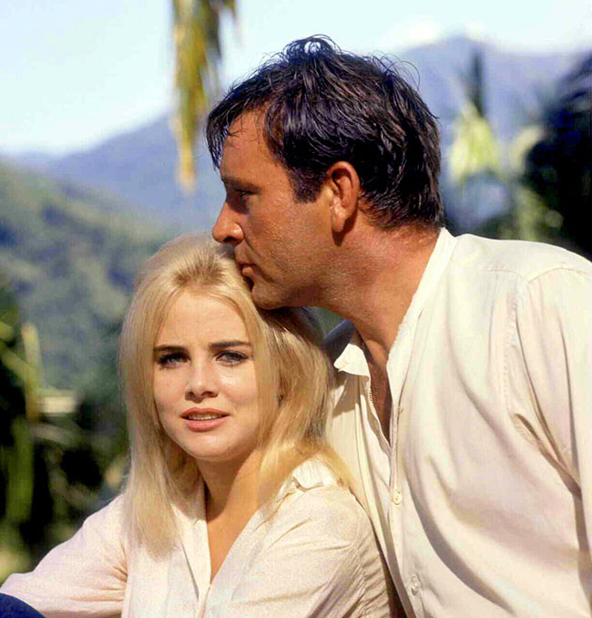 Sue Lyon and Richard Burton 1963