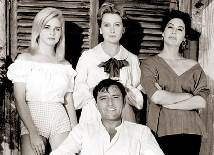Cast of The Night of the Iguana
